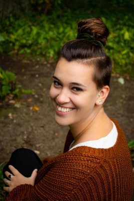 Portret Nina Pennock - Park Brakkenstein Nijmegen